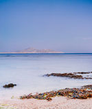 在纳马海湾,红海, Sharm El谢赫的日出 库存照片