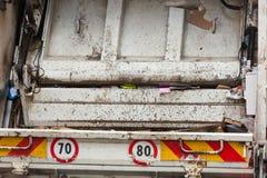 在纸和纸板补救的车用于recyclin 免版税库存照片