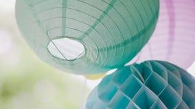 在纸外面的装饰品 免版税图库摄影