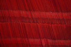 在纸工厂的纺织机器 免版税图库摄影