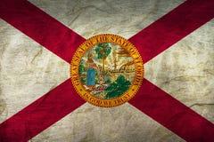 在纸的佛罗里达旗子 图库摄影
