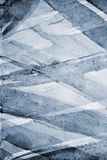 在纸纹理的抽象灰色水彩作为背景 免版税图库摄影