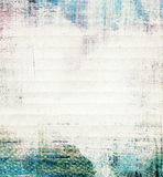 在纸纹理绘的抽象拼贴画 库存图片