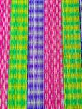 在纸莎草席子的五颜六色的样式,在一Tamb的民间智慧 免版税库存照片