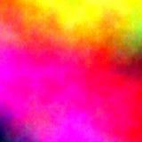 在纸-五颜六色的抽象背景的水彩 免版税库存图片