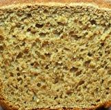 在纹理上添面包 免版税库存图片
