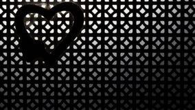 在纹理的心脏 库存图片