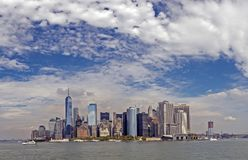 在纽约城降低曼哈顿 图库摄影