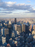 在纽约的看法 免版税库存照片