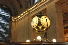11:30在纽约 免版税库存照片