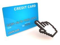 在线付款 向量例证
