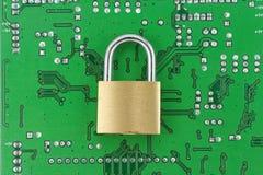 在线安全性 免版税库存图片
