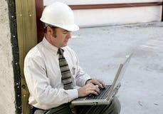 在线工程师 免版税图库摄影