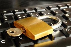 在线开户安全 免版税库存图片