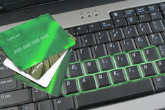 在线开户 免版税库存图片