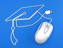 在线教育 免版税库存照片