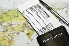 在线登记 免版税库存图片