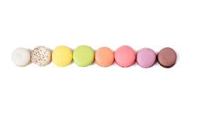 在线的另外蛋白杏仁饼干 免版税库存照片