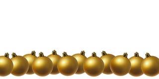 在线的金黄球 免版税库存照片