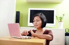 在线网络连接社交 免版税库存照片