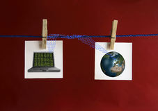 在线 免版税库存图片