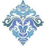 在经典样式的典雅的装饰品 免版税图库摄影