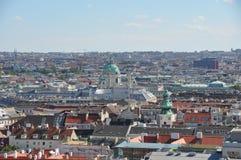 在维也纳,奥地利的视图 库存照片