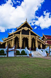 在缅甸样式的泰国宫殿寺庙 库存图片
