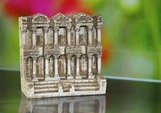 在缩样的古庙 库存照片