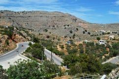 在罗得岛希腊海岛上拍的照片  库存图片