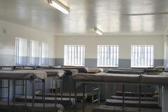 在罗本岛-开普敦-南非的最大安全监狱 免版税图库摄影
