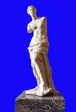 在罗浮宫的米罗的维纳斯 免版税库存照片