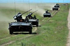 在罗马尼亚语的MLI 84 Jder战斗的机器 免版税库存照片