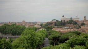 在罗马,意大利的完善的看法 股票视频