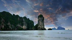 Ao Nang海岸  库存图片
