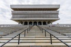 在美国国会的政府大厦在阿尔巴尼,纽约 免版税库存图片
