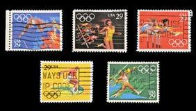 在美国打印的印花税投入奥林匹克运动会 免版税图库摄影