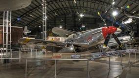 在美国空军博物馆,德顿,俄亥俄的飞机 免版税库存照片