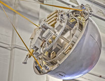 在美国航空航天局艾姆斯的模型卫星 免版税库存照片
