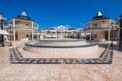 在美洲日报的购物中心2016年2月23日在阿德赫,特内里费岛,西班牙 免版税库存照片