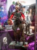 在美洲黑杜鹃Com &比赛香港的Deadshot 免版税库存照片