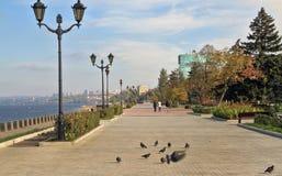 在翼果沿岸航行,俄罗斯联邦城市 图库摄影