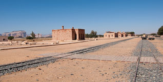 在翼膜附近的Hejaz火车站 免版税库存图片
