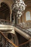 在老历史赌博娱乐场大厦的内部 免版税图库摄影