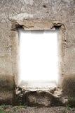 老城堡窗口 库存照片