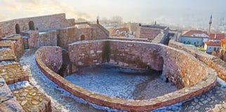 在老城堡 免版税库存图片