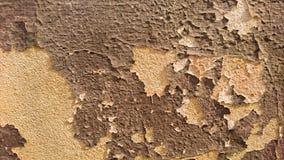 在老墙壁上的破裂的油漆作为背景, 免版税库存照片