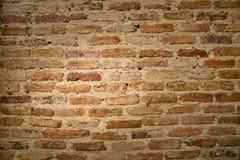 在老墙壁的砖 图库摄影