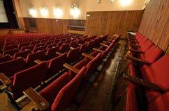 在老戏院。 免版税库存图片