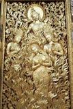 在老挝人的寺庙琅勃拉邦 免版税库存照片